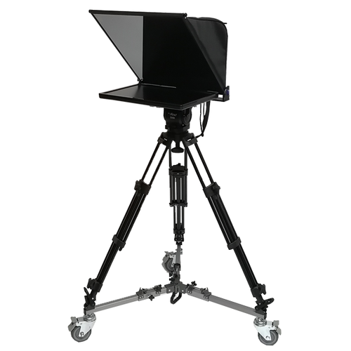 19inch professional teleprompter with 1 LCD